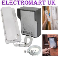 2 Way 2 Wire Security Door Intercom Telephone Phone System Ip44 Inc 10m Cable