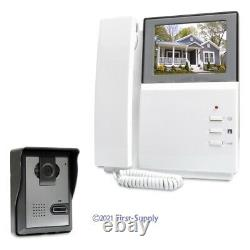 4.3inch Video Door Entry Phone Call System Electric Lock Supported for Apartment
