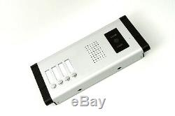 4 Units Apartment Wired Video Door Phone Audio Visual Intercom Entry System 1V4