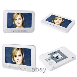 6 Apartment / Family 7inch Video Door Phone Intercom System &6 button 6 Monitor