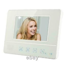 7 Monitor Outdoor Camera Doorphone System with LCD Color Home Intercom Doorbell