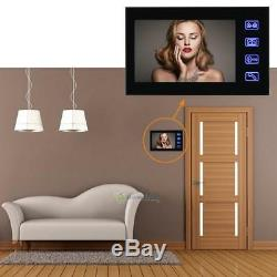 7 TFT LCD Video Door Phone Intercom Doorbell Touch Button Remote Night Vision