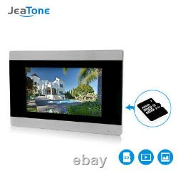 7'' Touch Screen W WIFI IP Video Door Phone Intercom System 1 to 2 + POE