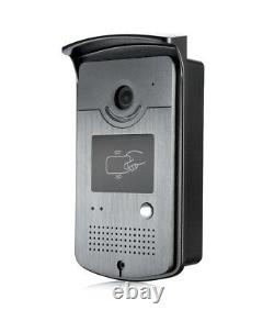 7'' Wired Color Video Door Phone intercom System Kit Set & 600lbs Magnetic Lock