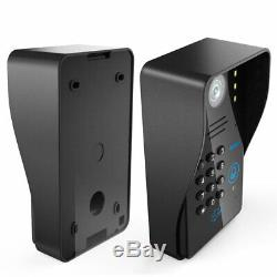 7 Wired/Wireless Wifi Video Door Phone Intercom System+Electric Drop Bolt Lock