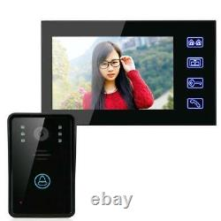 7 color TFT LCD Video Door Phone Intercom System Doorbell Touch Button Remote