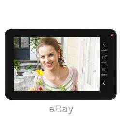 9'' 3 Monitors Wired/Wireless Video Door Phone with HD 1080P Wired Camera