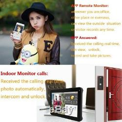 9 Wireless/Wifi Smart IP Villa Video Door Phone Intercom Doorbell Entry System