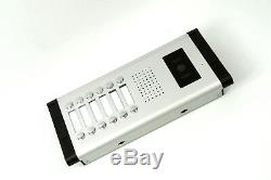 Apartment 12 Units Wired Video Door Phone Audio Visual Entry Intercom System
