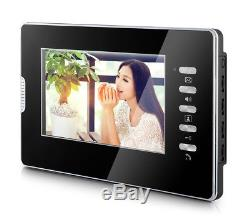 Apartment 5 Units Wired Video Door Phone Audio Visual Entry Intercom System 1V5