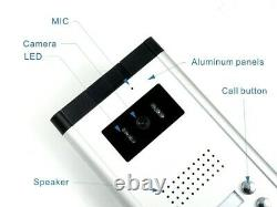 Apartment 6 Units 7 Wired Video Door Phone Intercom System 1V6 with HD Camera