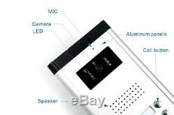 Apartment Wired Video Door Phone Audio Intercom Entry System Doorbell 2 Units
