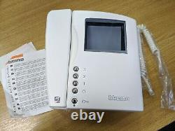 Bticino Terraneo 2 Wire Video Swing Colour White 344804 Door Entry Phone New And