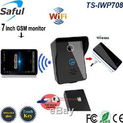 HD 7 Touch Screen 3G Wireless Phone Video Intercom Door Bell Android/IOS WiFi