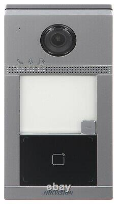 HIKVISION Wireless WiFi IP Video Doorphone DS-KV8113-WME1, 1 Call button