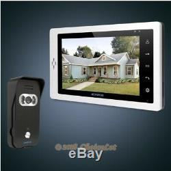 HOMSECUR 7 Video Door Phone Intercom System+IR Night Vision for Home Security