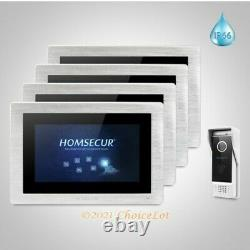 HOMSECUR 7 Wired Call Transfer Video Door Phone Intercom System for Apartment