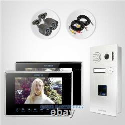 HOMSECUR 7 Wired Video Door Entry Phone Call System with Fingerprint Access