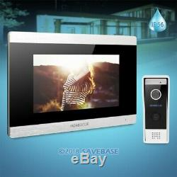 HOMSECUR 7 Wired Video Door Phone Intercom System CCTV Camera Supported
