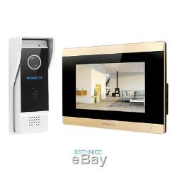 HOMSECUR Video Door Phone Intercom System with IR Night Vision for House/ Flat