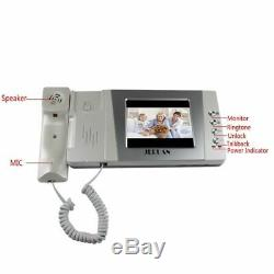 Home Intercom System Wired Color Video Door Phone DoorBell Cheap 4.3 inch LCD