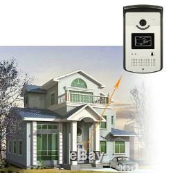 NEW 7 Home Video Intercom Door phone System With 2 White Monitors + 1 IR Camera