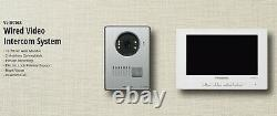 Panasonic VL-SV71 Wired Video Intercom System Doorphone with 7-inch Color Monitor