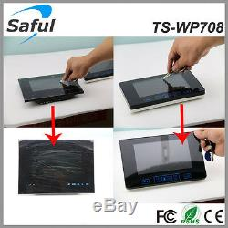 Saful Video Intercom Wireless Door Phone System with 1 Monitor WiFi Night Vision