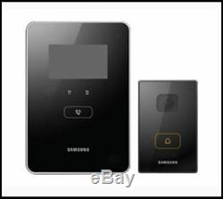 Samsung Video Phone & Door Camer SHT-3615 + CN810 Home Automation System (Black)
