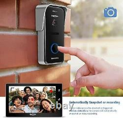 TMEZON Touch 10 inch Wireless/Wired WiFi IP Video Doorphone/bell Intercom System