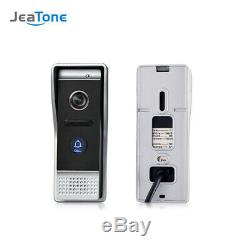WIFI IP Wireless Video Door Phone Intercom Touch Screen Monitor Entry System Set