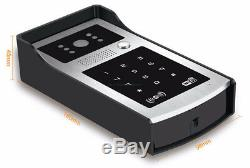 Wifi RFID and Password Video Door Phone Touch Keypad Kit Magnetic Lock Power Uni