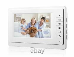 Wired Apartment Video Door Phone Audio Visual Intercom Entry System