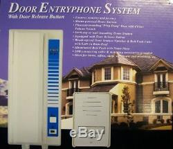 Wired Door Entry Phone Receiver System Security Intercom Outdoor 2 Wire Bell