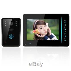 Wireless Video IR Camera Door Phone Rainproof Doorbell Remote Home Security 1V1